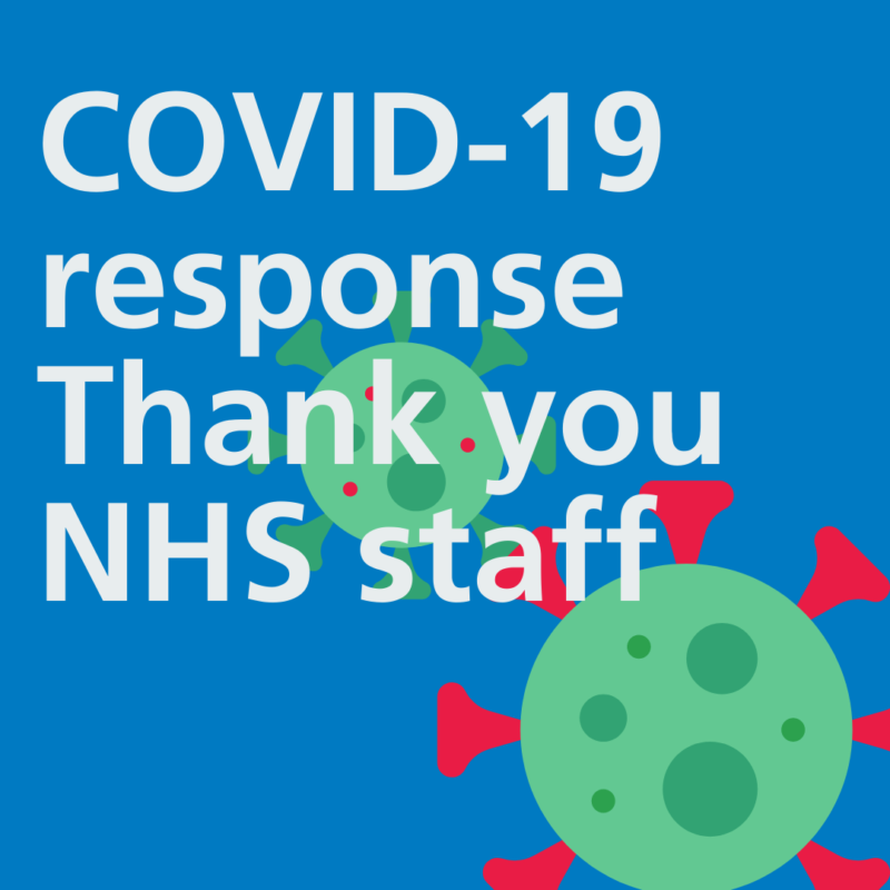 Video says thank you to NHS staff