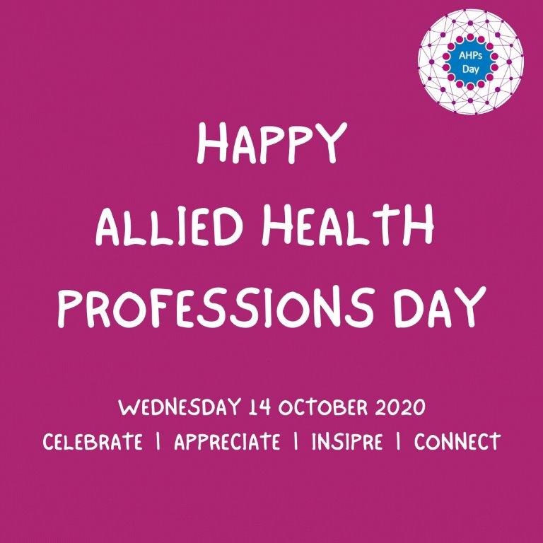 Our Allied Health Professionals (AHPs) share their stories for AHP Day