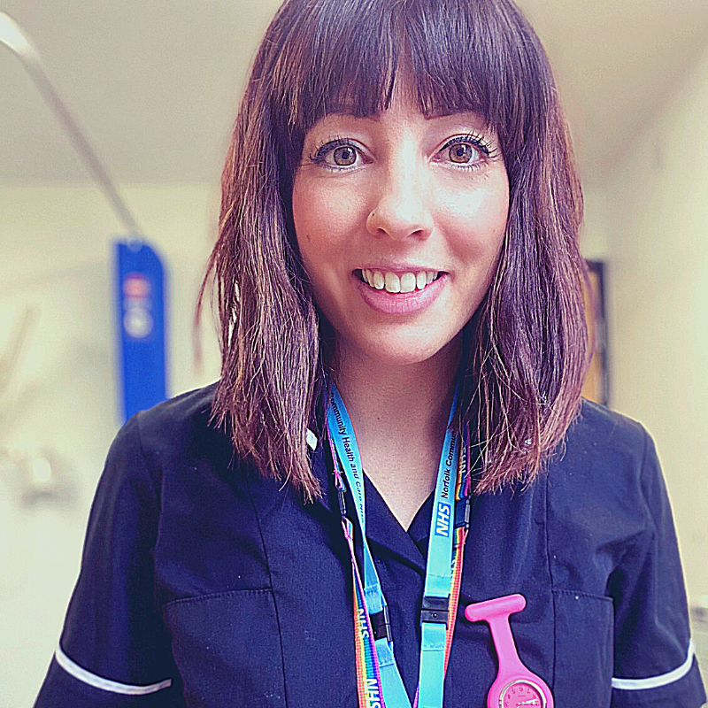 Jessica shortlisted for NHS Person Of The Year Award