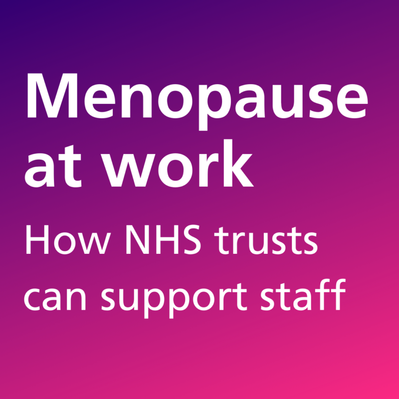 NCH&C featured in Nursing Standard article on menopause in the workplace
