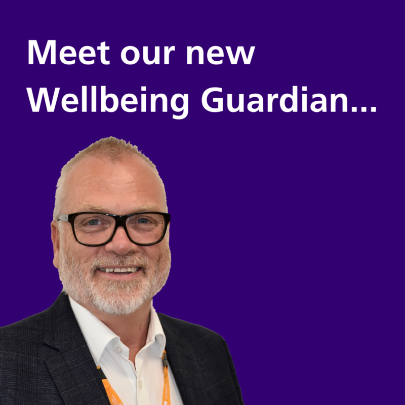 Introducing NCH&C's first Wellbeing Guardian…