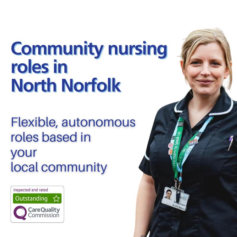Nursing opportunities in North Norfolk