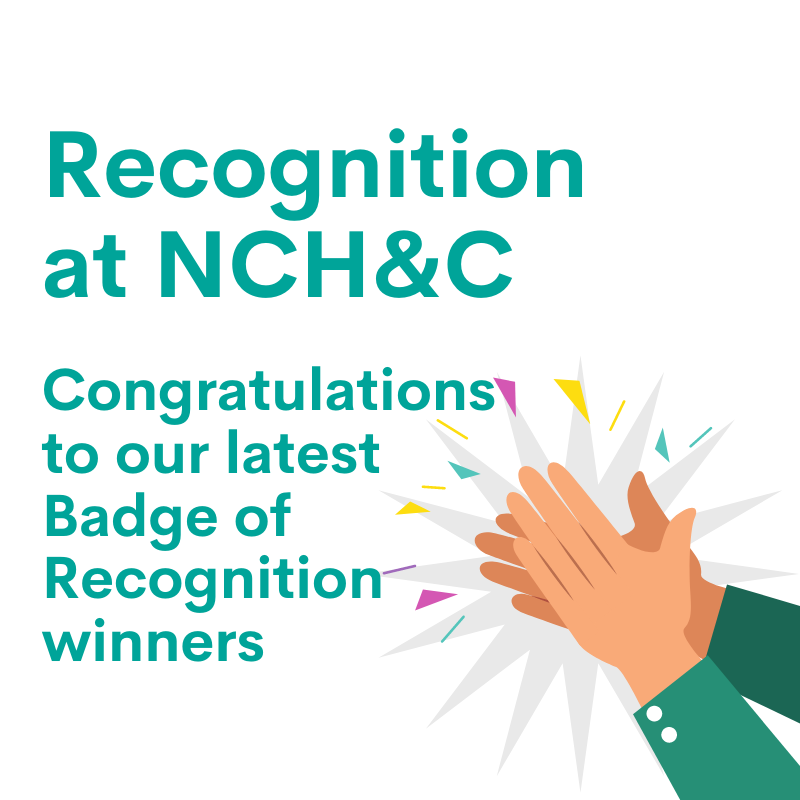 Latest Badge of Recognition winners