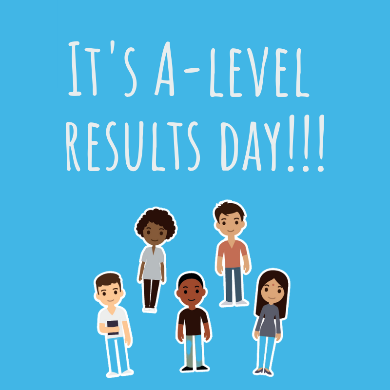 It's A-level results day!!