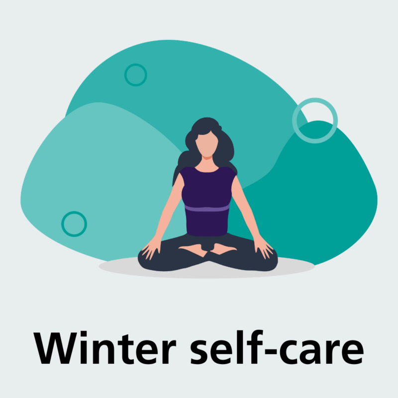 What can I do to keep myself well over winter?